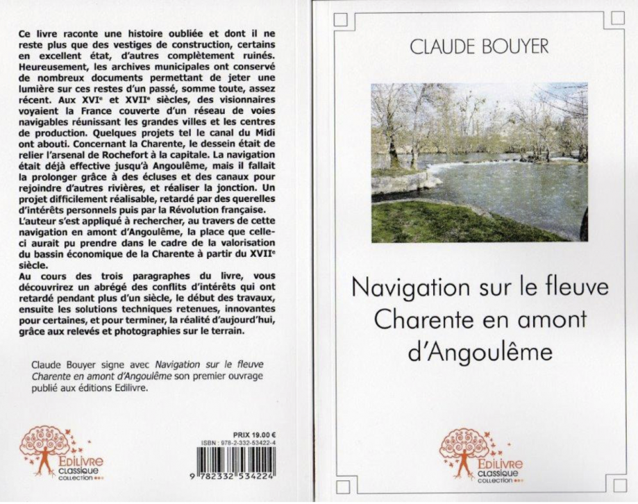 Claude BOUYER Navigation sur le fleuve Charente