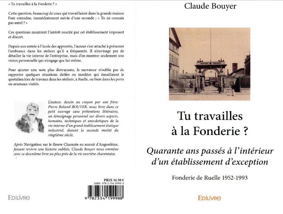 Claude BOUYER Tu travailles à la Fonderie