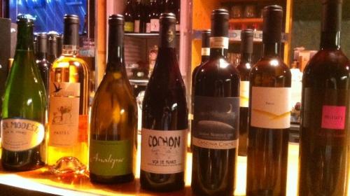 diner de mars 2014 - bouteilles de vin.JPG