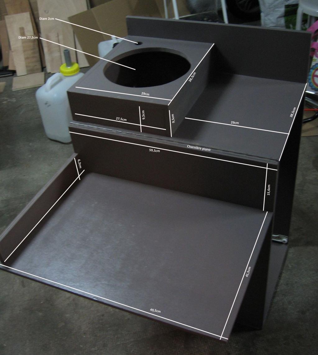 Le meuble cuisine am nagement amovible transporter for Meuble cuisine amovible
