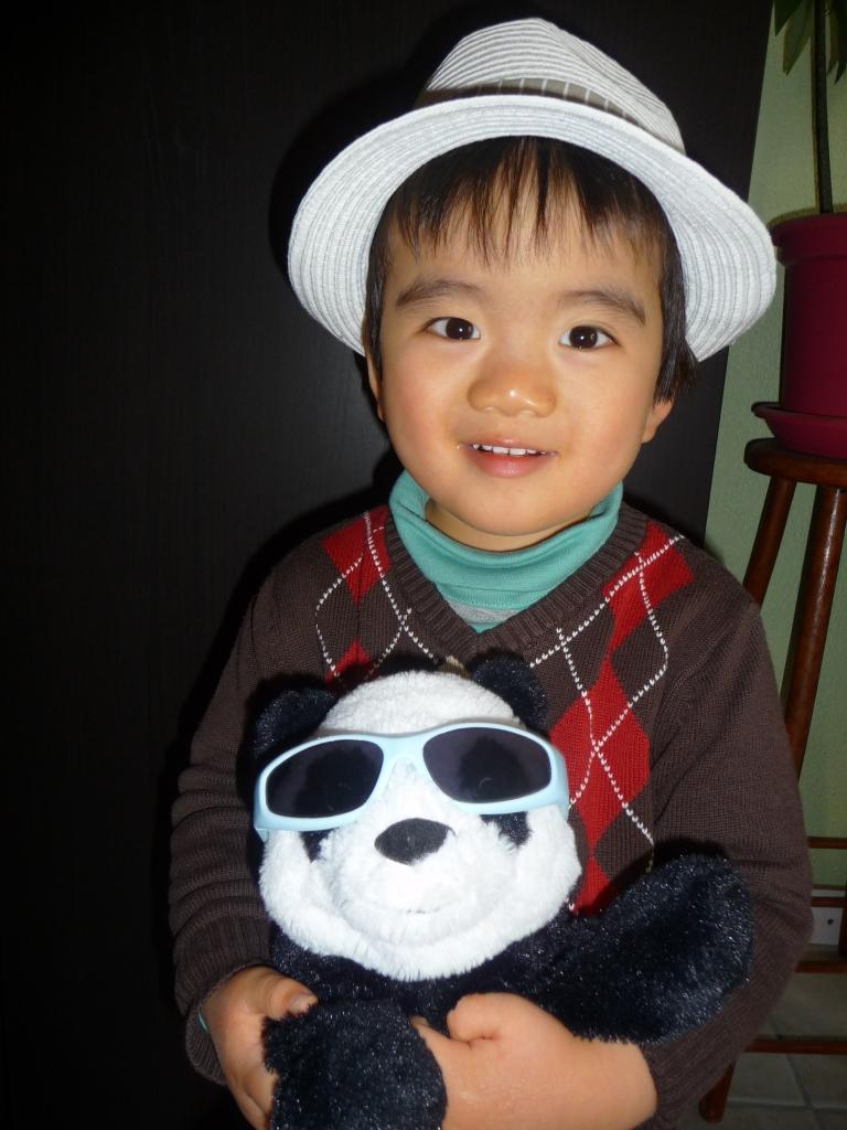 3.En attendant le printemps avec bb panda.JPG