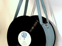 Sac disque vinyl 33 tours ciel UNIKTONSAC
