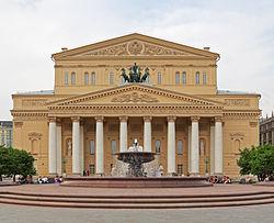 Le théâtre Bolchoï en 2012.