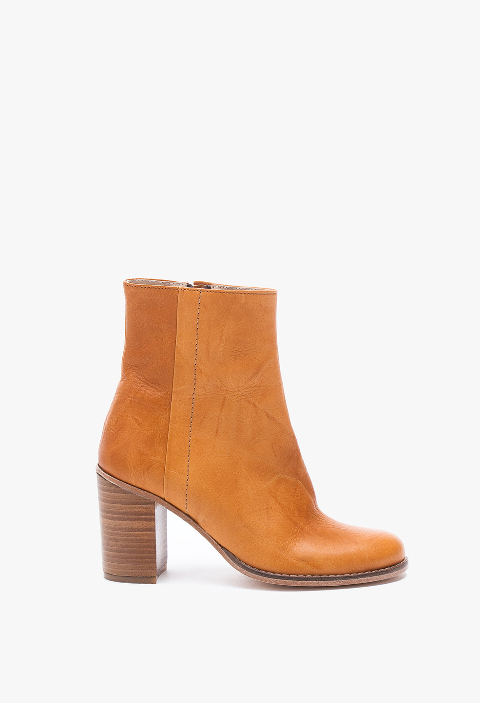 Ankle Boot Cognac Shoes Accessories