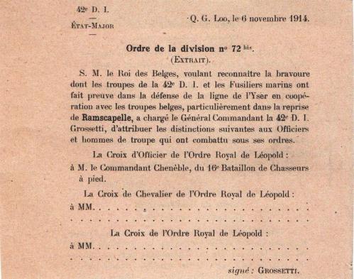 décoration du chef de bataillon Chenèble CADRE.jpg