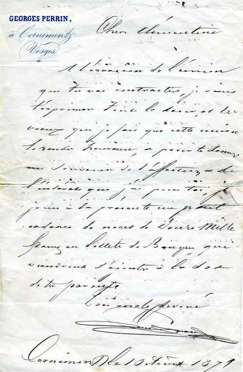 1871 Georges Perrin a Clementine cadeau mariage.jpg