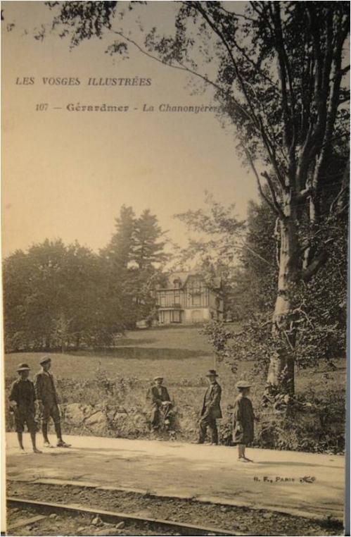 1909 La nouvelle Chanonyère Gerardmer Carte postale.jpg