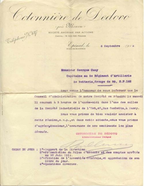 Dedovo CA Cotonniere 1915-09-06.jpg