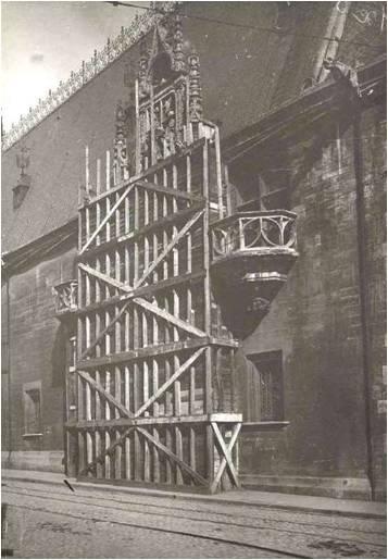 1915 Protection palais ducal.jpg