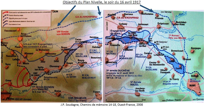 Farret34 Image2 Cartes objectifs du plan Nivelle.jpg