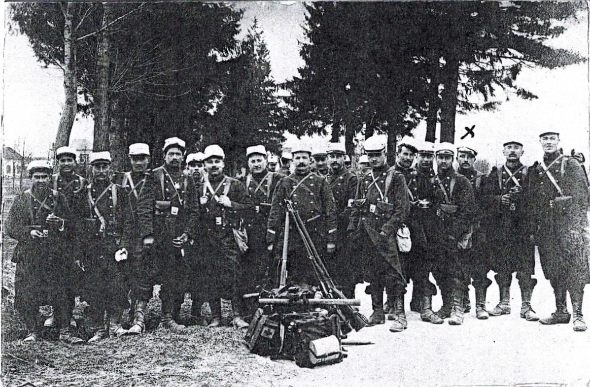 Docelles Image23 Marcel Parizot et soldats.jpg