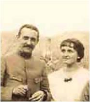 1916-01-23 Edouard et Madeleine Michaut Saulxures.jpg
