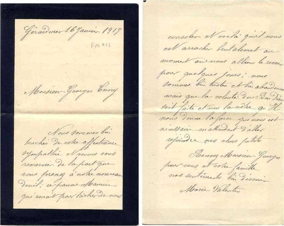 1917-01-16 Marie Valentin à GC après la mort de ses 2 fils.jpg