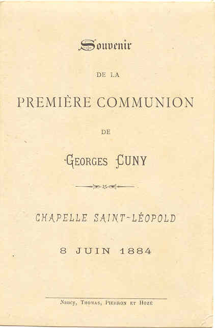 1884 Georges Cuny - Image Communion  (Archives Odile Dehollain) Verso (V0032).jpg