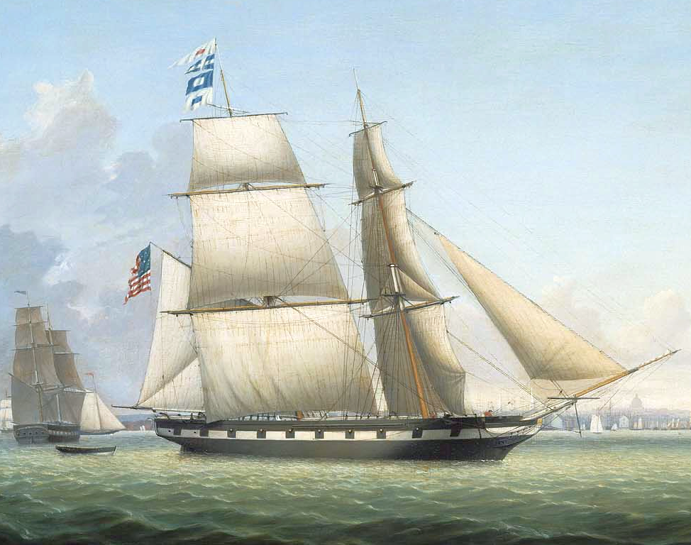 1863_BrigAntelopeInBostonHarbor_byFitzHenryLane_MFABoston_-_Antelope_(steam_demi-bark,_1855)_(cropped)