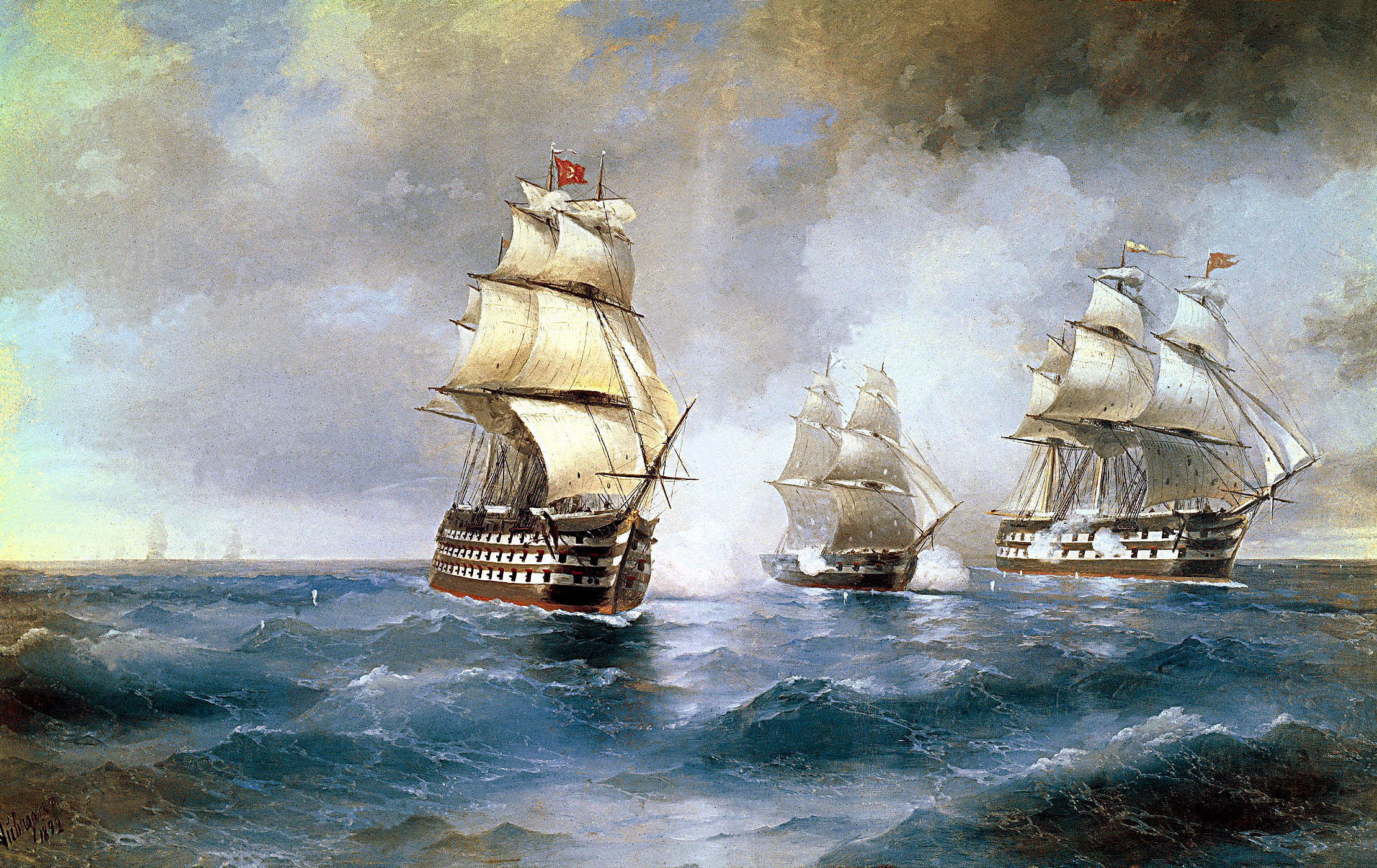 Aivazovsky,_Brig_Mercury_Attacked_by_Two_Turkish_Ships_1892