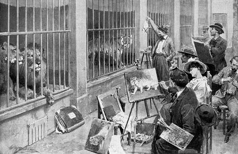 Animal_artists_at_the_Jardin_des_Plantes