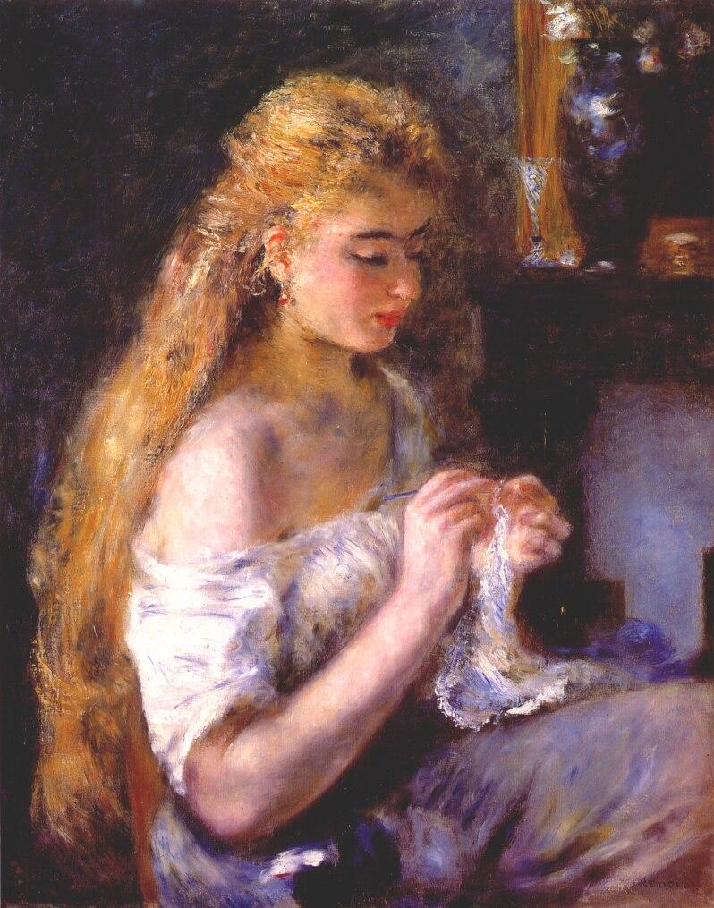 j femme au crochet Renoir.jpg