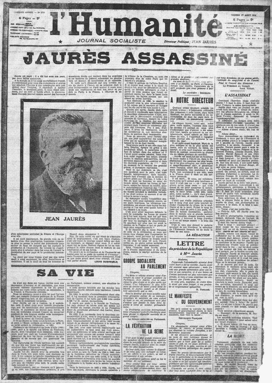 L'Humanité_1914-08-01_(Jaurès_assassiné).jpg