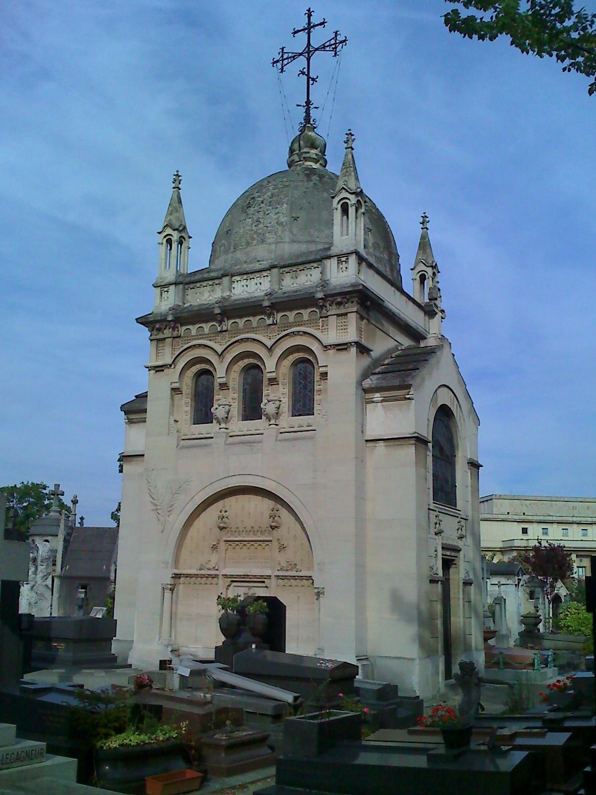 Bashkirtseff-grave