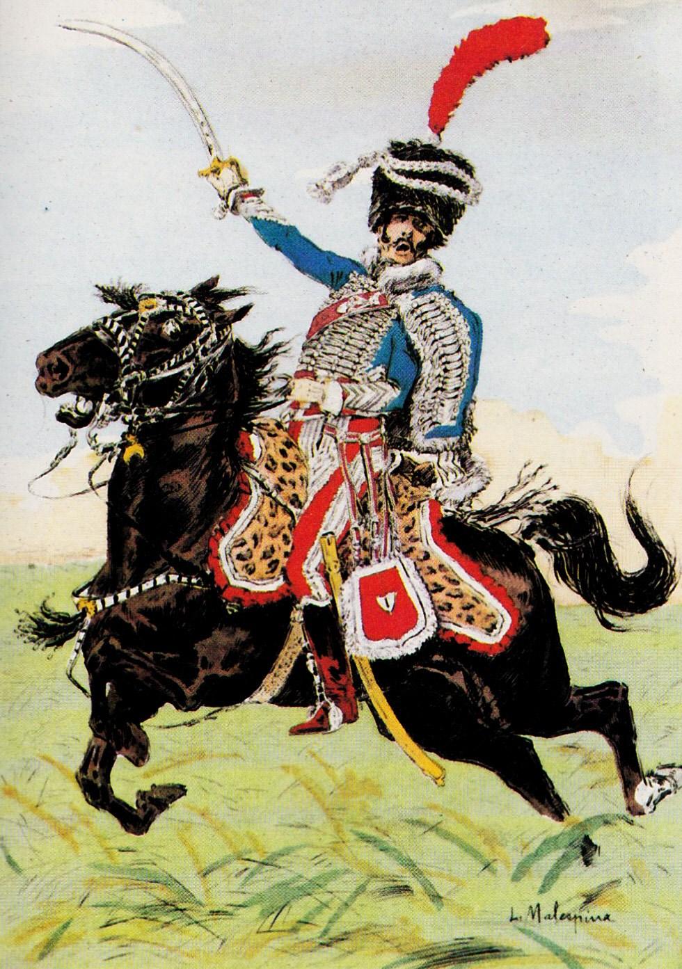 Chef_d\\\'escadron_du_1er_hussards,_1810