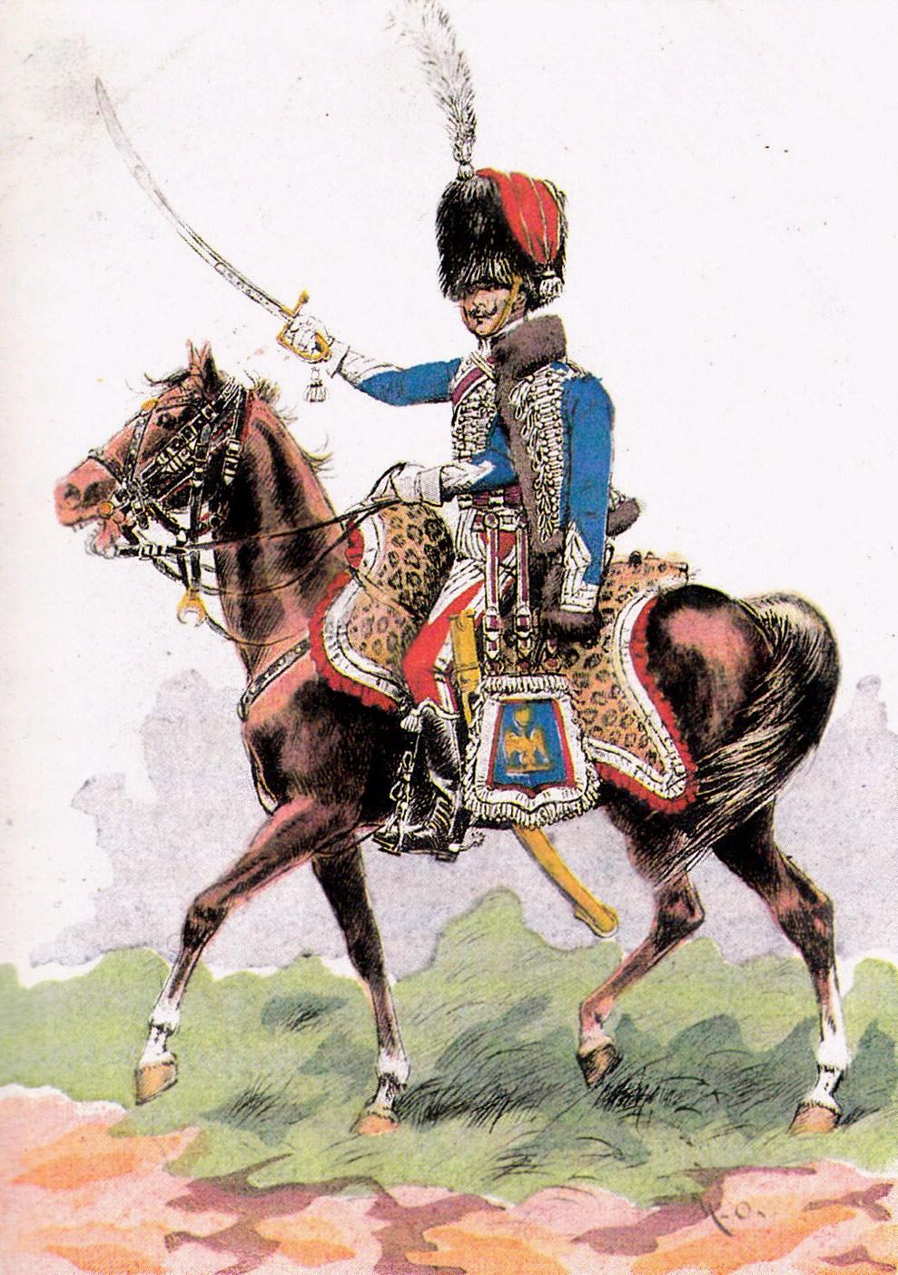 Chef_d\\\'escadron_du_1er_régiment_de_hussards,_1810