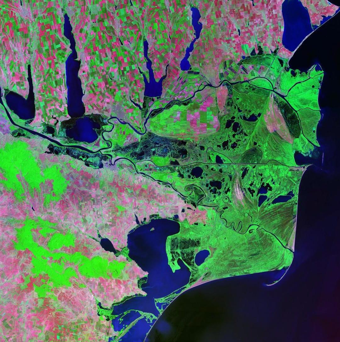 Danube_delta_Landsat_2000