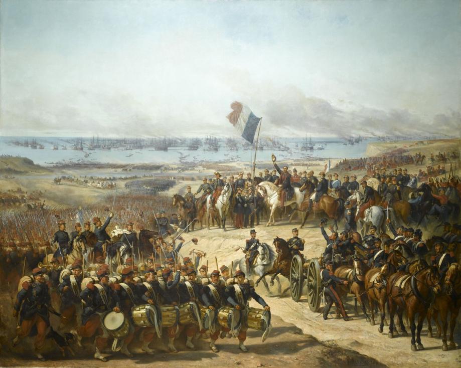 Debarquement_des_Français_et_des_Anglais_dans_la_baie_de_Kalamita_le_14_septembre_1854