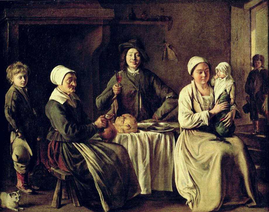 Louis_Le_Nain-_Happy_Family-_1642-_Louvre