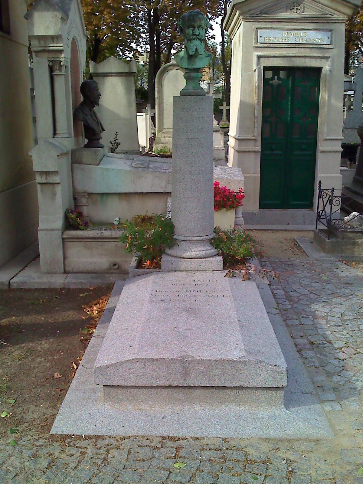 Manet-grave