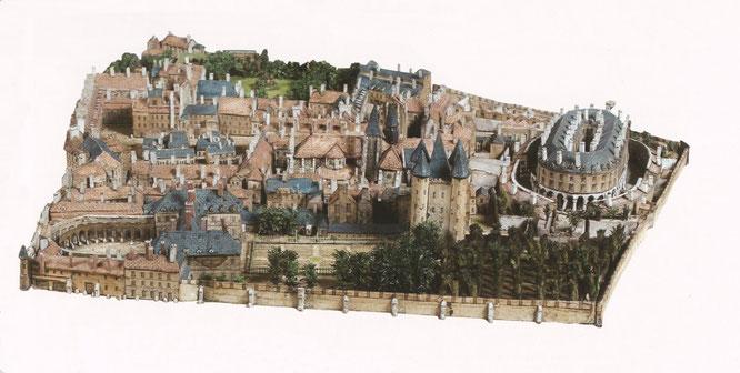 maquette-de-l-enclos-du-temple-de-paris-musée-carnavalet