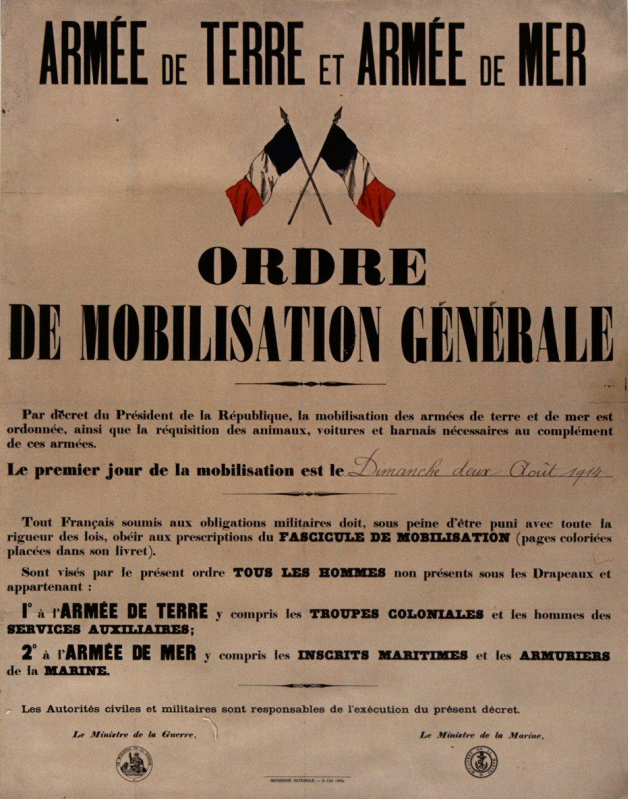 OrdreMobilisationGenerale