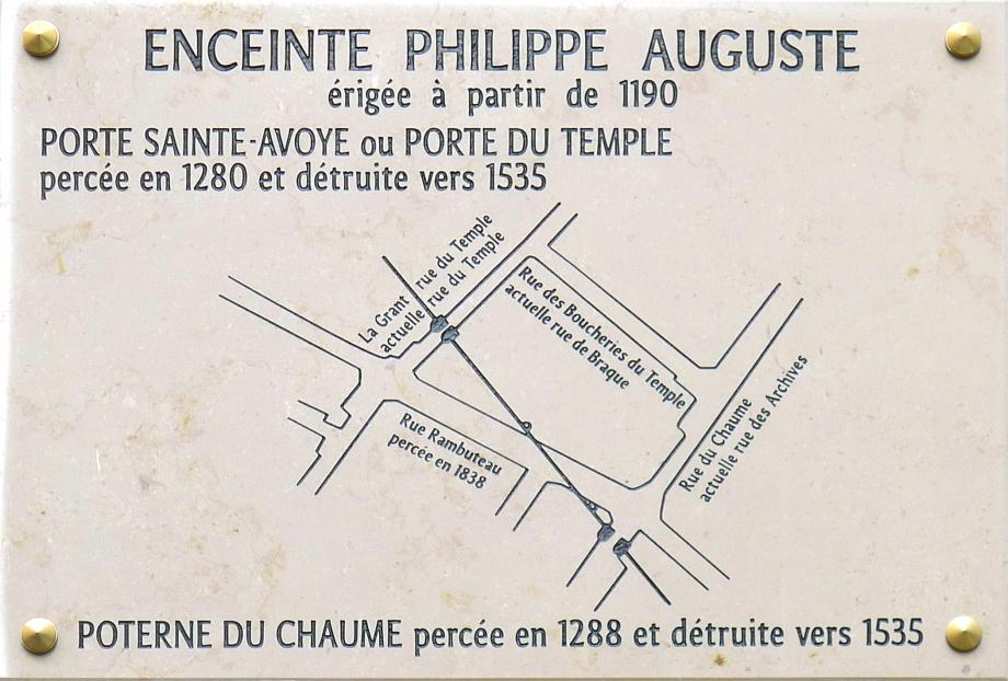 P1370855_Paris_III_et_IV_rue_Rambuteau_enceinte_Philippe-Auguste_rwk