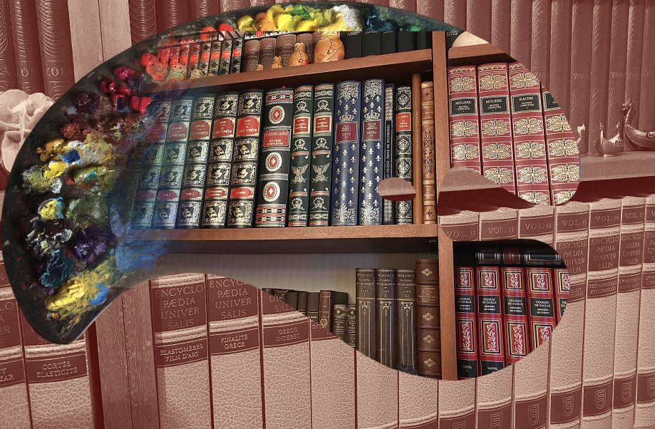 palette livres