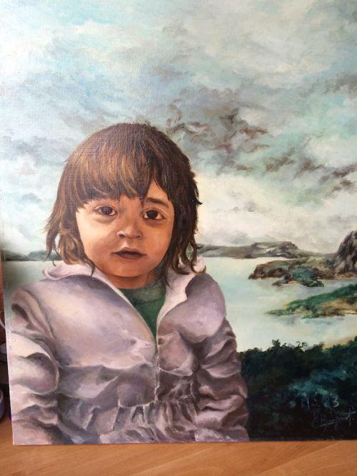 Anne-Laure à 2 ans suite