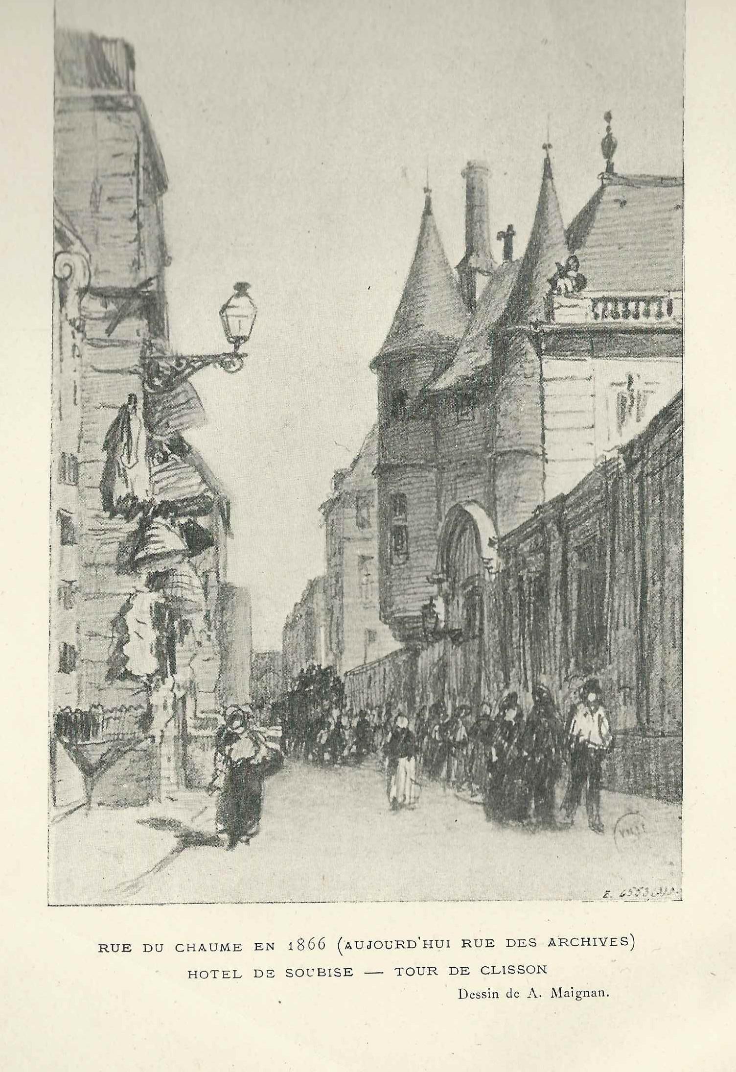 rue de Chaume