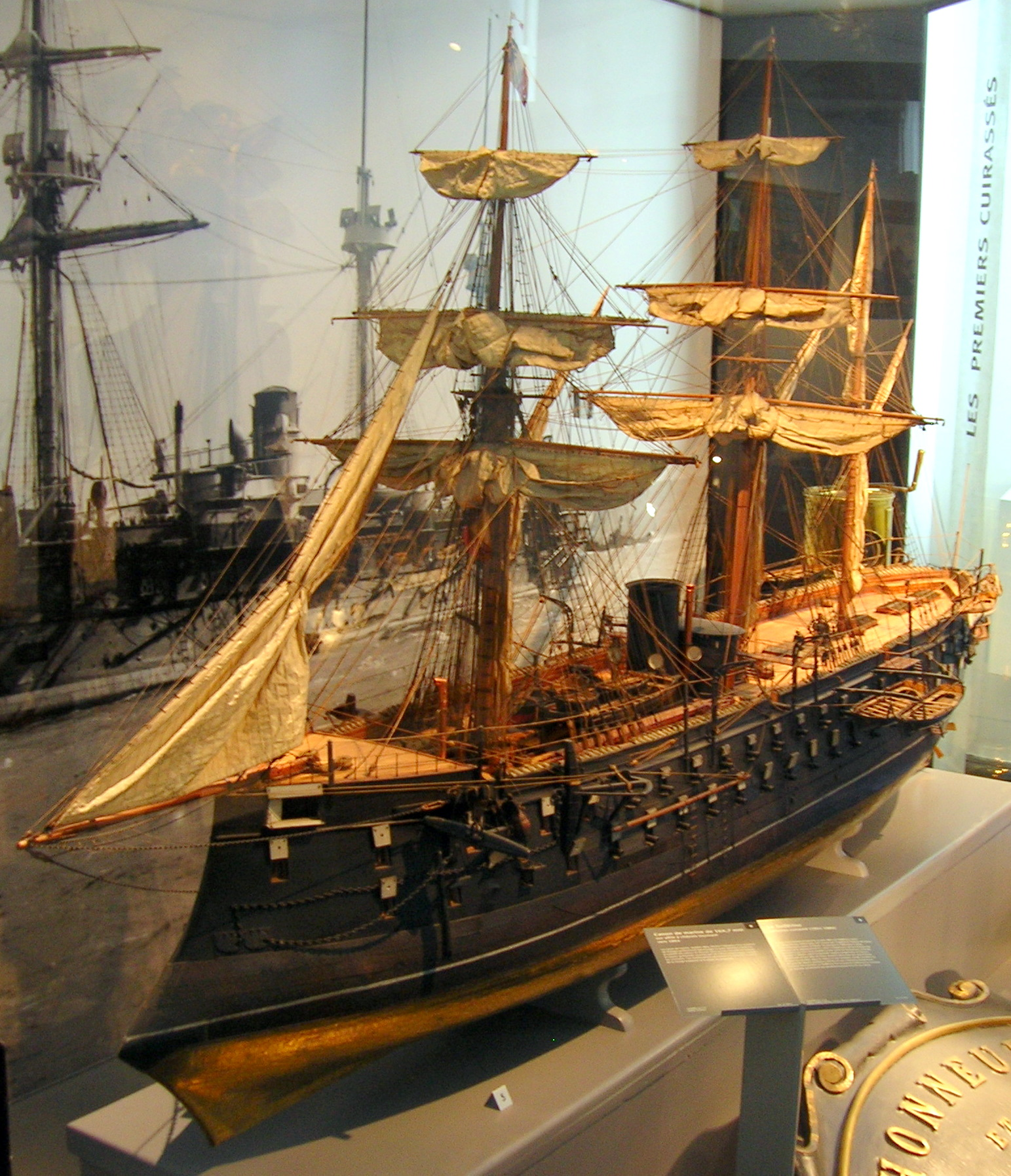 Solferino_ironclad_model