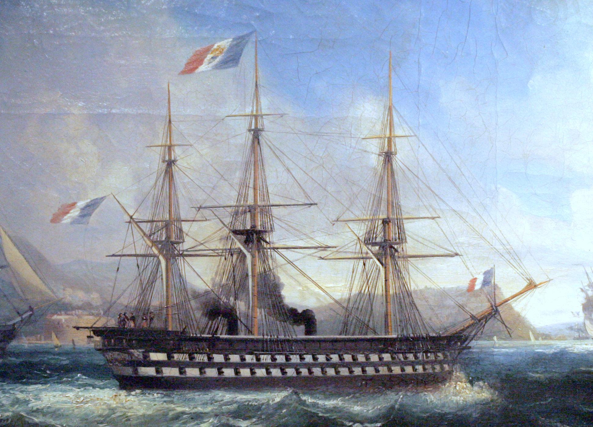 TheNapoleonAtToulonIn1852ByLauvergne