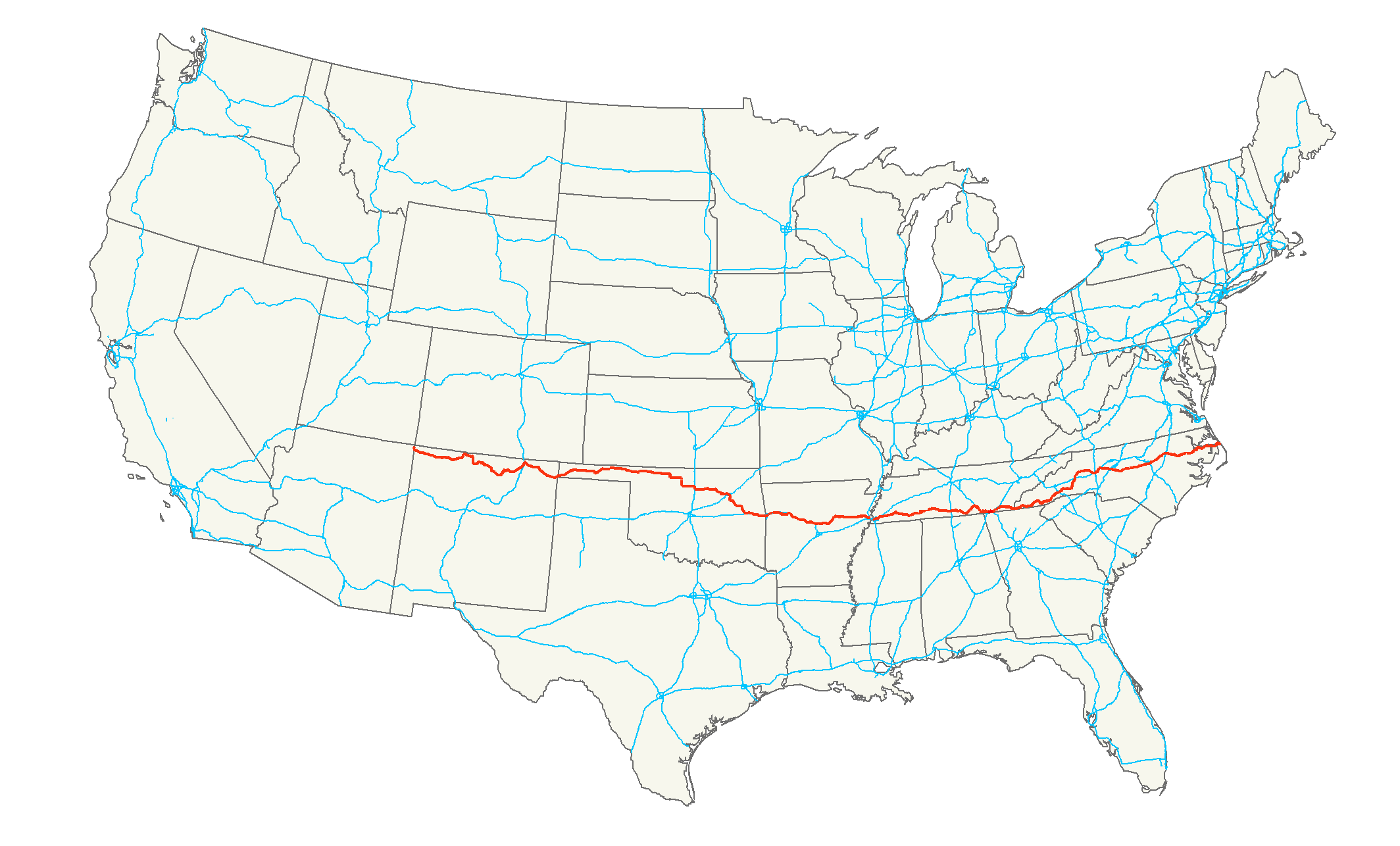 US_64_map