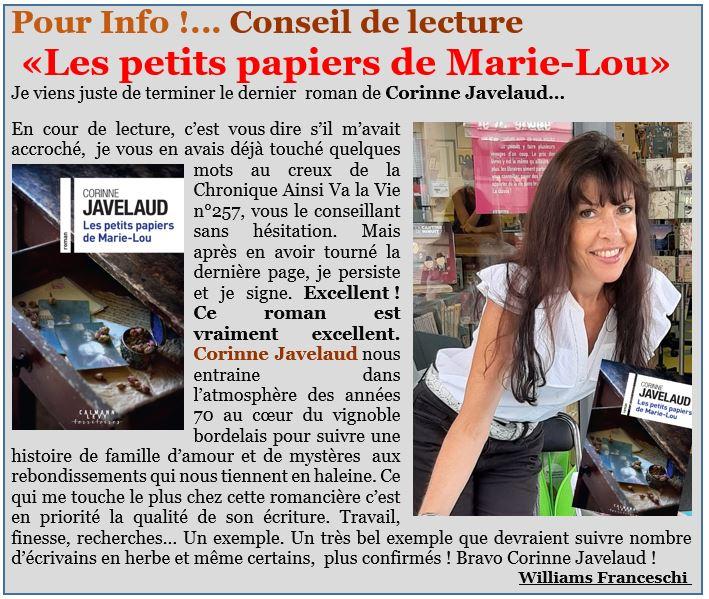 Conseil de lecture Les petits papiers de Marie-lou.JPG