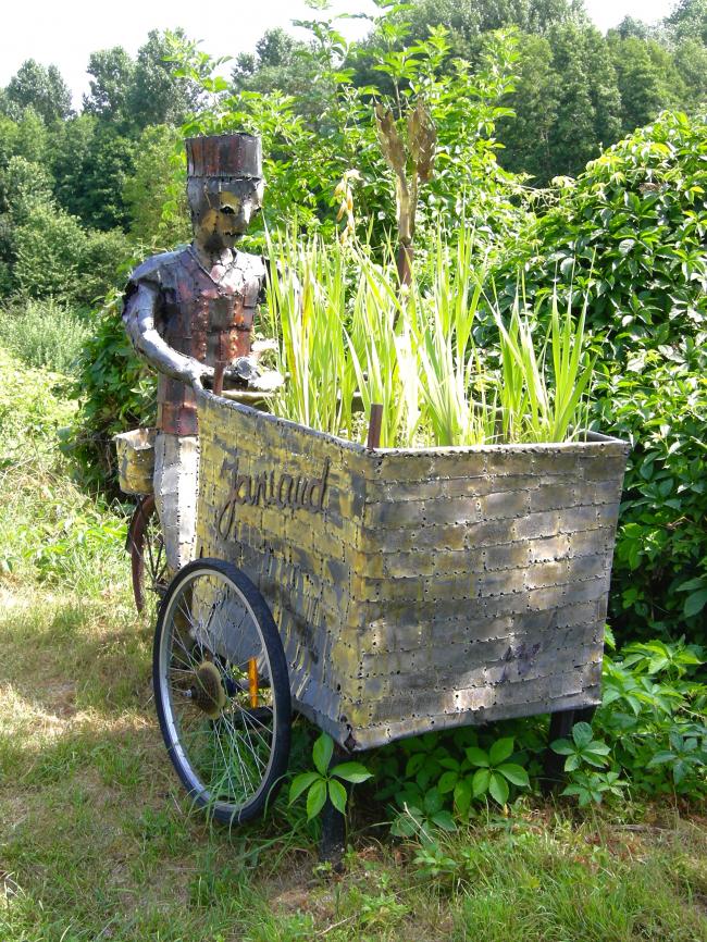 Le jardinier de BOIGNEVILLE