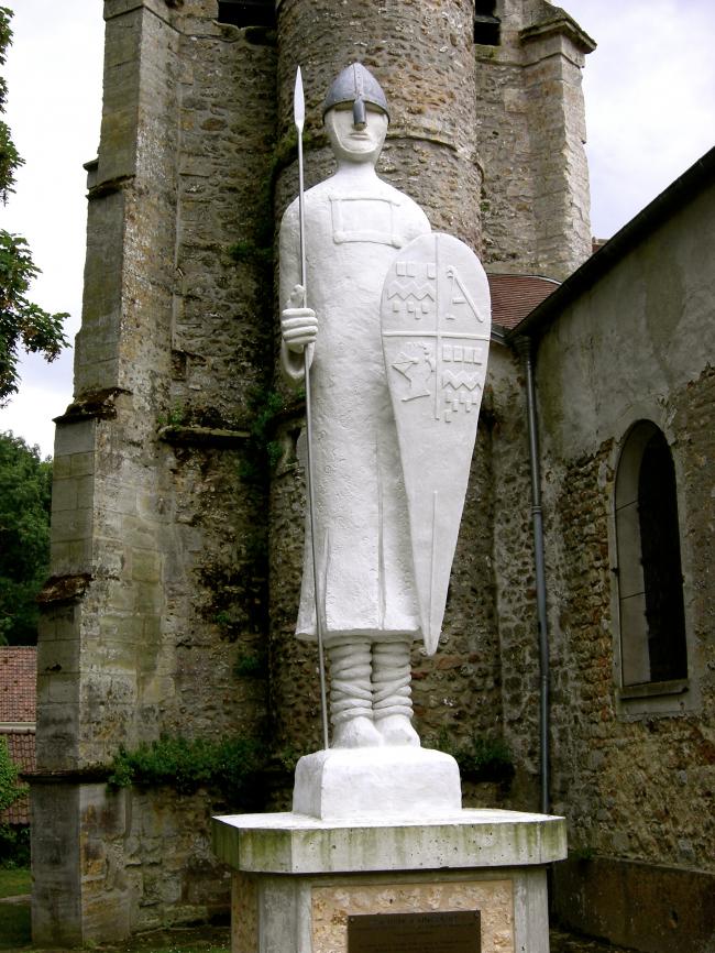 Le seigneur Gautier à AINCOURT