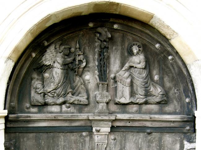 Portail de l'église de BERVILLE
