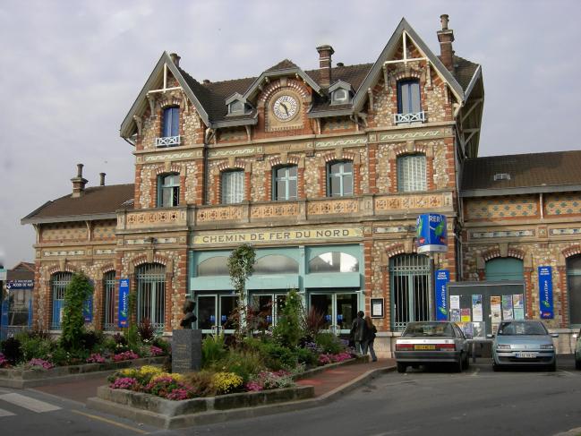 La gare d'ÉPINAY SUR SEINE