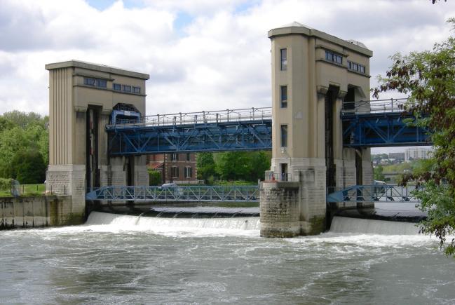 Le barrage de PUTEAUX