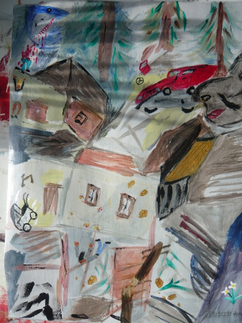 2014-03 CATACLYSME acrilyque dur papier dessin 25x32.JPG