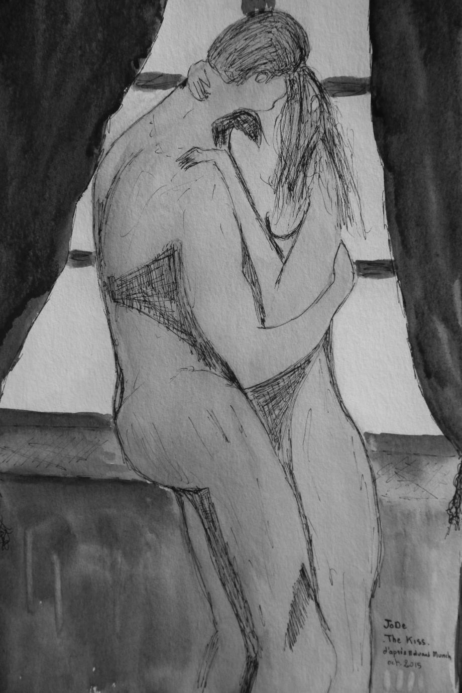 The Kiss d'après Munch.JPG