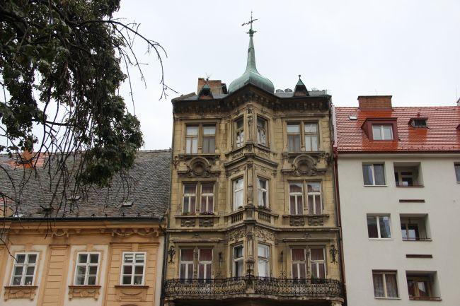 Trois façades, trois époques