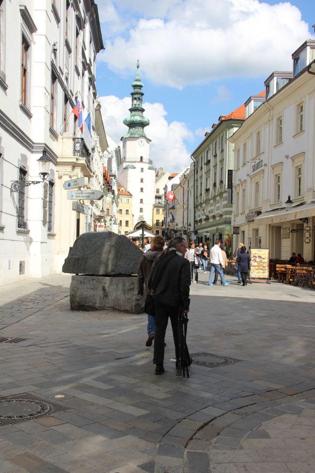 Dans les rues de la vielle ville