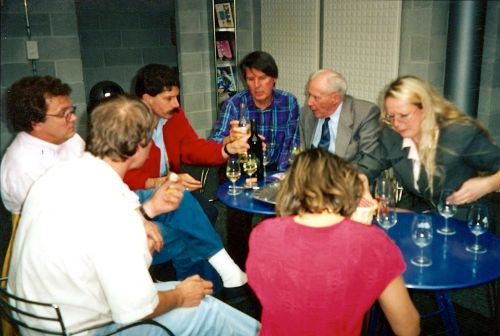 Jean-Charles Simon, Franco Cibrario, Germain Clavien, Maurice Zermatten, Françoise Berclaz-Zermatten